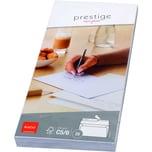 Elco Briefumschlag Prestige DL haftkleb. PA 25St hochweiß ohne Fenster 120g/m²