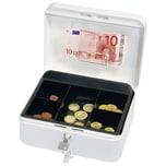 Wedo Geldkassette Größe 2 Clip weiß Nr. 145200H. 20x9x16cm
