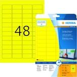 Herma SuperPrint-Etiketten Nr. 4366 gelb PA 1.200 Stk 457x212mm permanent