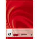 BRUNNEN Schulheft Vivendi A4 kariert Nr. 104472802. 16 Blatt. Lineatur 28