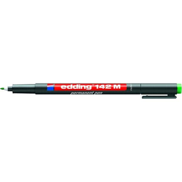 Edding Folienschreiber 142 M grün Strichstärke ca. 1mm permanent