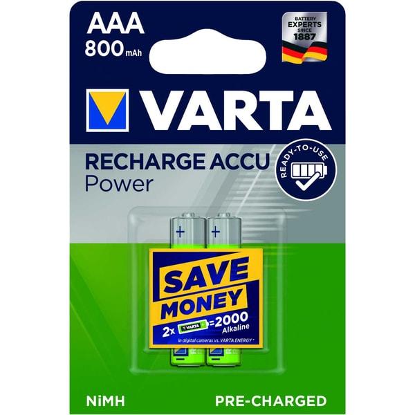 Varta Akku Ready2Use Micro Aaa Nr. 56703101402 12Vhr03 800Mah2St