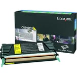 Lexmark Toner C5240YH gelb Rückgabe f. C524 5.000 Seiten