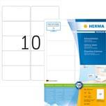 Herma Adress-Etikett Nr. 4667 weiß PA= 1.000Stk. 96x50.8mm bedruckbar