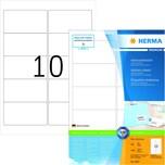Herma Adress-Etiketten Nr. 4667 weiß PA 1.000Stk 96x508mm bedruckbar