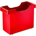 Leitz Hängemappenbox Uni-Box rot Nr. 1908-25 Polysterol 40x275x17cm