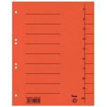 Bene Trennblätter A4 orange Nr. 97300OR 250g m² Karton