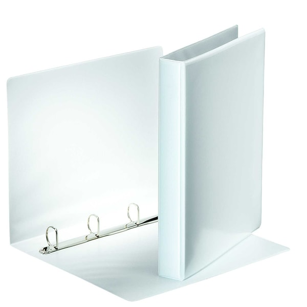 Esselte Ringbuch Präsentation A4 weiß Nr. 49702 4 Ringe 25mm PP