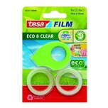 Tesa Handabroller ECO & Clear grün Nr. 58241 bis 19mm x 10m + 2 Rollen