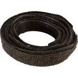 Klettband. Velcro Lasche 10 St./Pack. sw