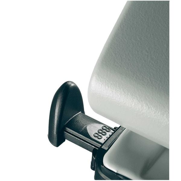 Leitz Doppellocher New NeXXt grau Nr. 5012-85 25 Blatt + Anschlagschiene
