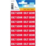 Herma Text-Etikett Nr. 15036 rot PA= 320Stk.. 12.5x40mm Eilt sehr