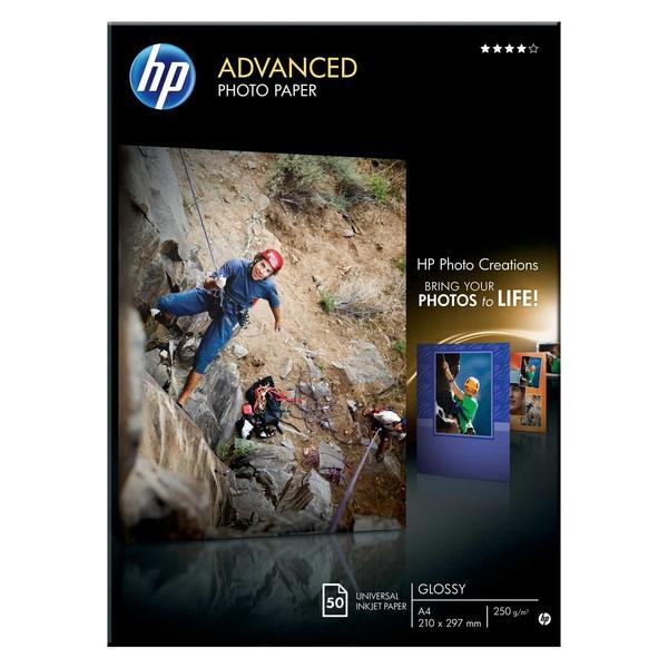 HP Advanced Fotopapier A4 250g Nr. Q 8698A PA 50 Blatt glänzend
