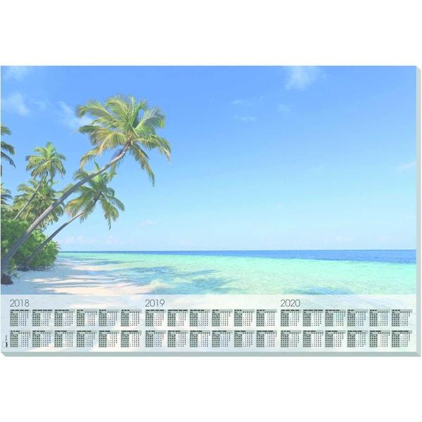 Sigel Schreibunterlage Beach Papier Nr. HO470595X41cm 30 Blatt ohne Folie