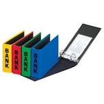 Pagna Bankordner Basic Colours din lang Nr. 40801-03 Pappe rot 50mm