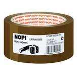 Nopi Packband 50mm x 66m braun Nr. 57953 Reißfestigkeit mittel PP