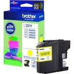 Brother Tintenpatrone LC221Y 260Seiten gelb
