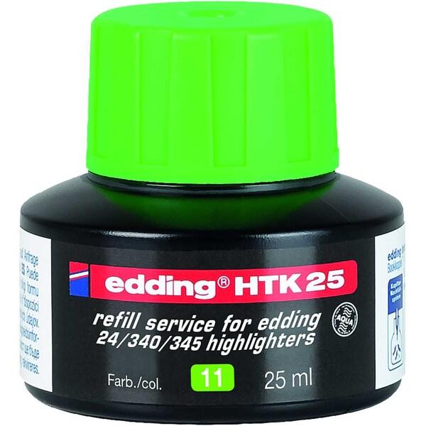 Edding HTK25 Nachfülltusche 25ml hell- grün 4-HTK25011