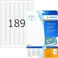 Herma Movables-Etikett Nr. 10001 weiß PA 4.725 Stk 254x10mm ablösbar
