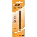Bic Kugelschreibermine Easy Glide schwa Nr 1199990001 04mm schwarzPA= 2Stück