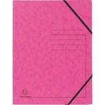 ExacomPTA Eckspanner A4 Karton rosa Nr. 555420E. Colorspan