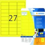 Herma Folien-Etikett Nr. 8031 gelb PA 675Stk 635x296mm bedruckbar