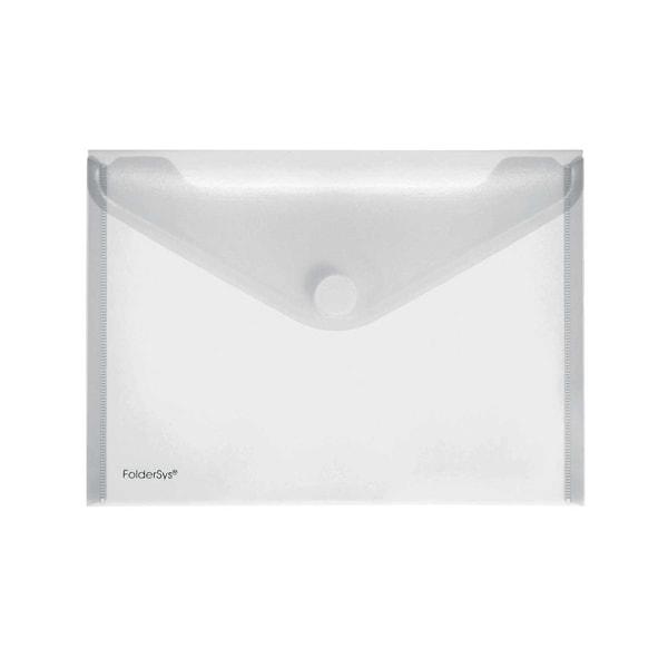 Foldersys Sichttasche A5 quer matt Nr. 40102-04 PA 10St Klettverschluss