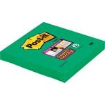 Post-it Haftnotiz Super Sticky 76x76mm Nr. 6546SA lindgrün Block à 90 Blatt