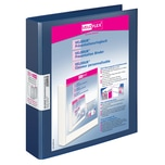 VELOFlex Präsentationsringbuch Velodur Nr. 1143150 2 Ringe Ø 25mm blau 40mm