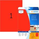 Herma Etikett Special Nr. 4422 rot PA 20 Stück. 210x297mm Signalwirkung