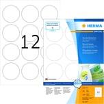 Herma Superprint-Etikett Nr. 4477 weiß PA 1.200 Stk. Ø 60 mm