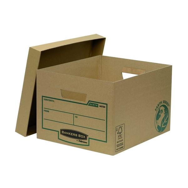 Fellowes Bankers Box Archivbox Earth Nr. 4472401 32x25x39cm braun