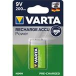 Varta Akku E-Block Power Ready2Use Nr. 56722101401. 9V. HR9. 200mAh