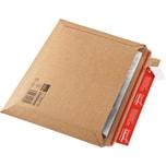 ColomPac Versandtasche 400x285x50 braun Querbefüllung Nr. CP015.07. Wellpappe