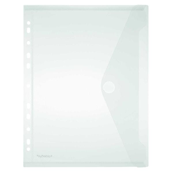 FolderSys Sichttasche A4 hoch PP matt Nr. 40106-04 PA 10St mit Abheftrand