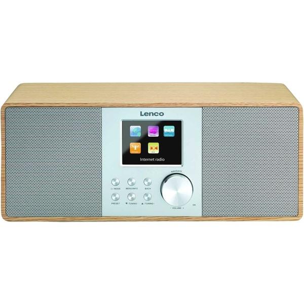Lenco Internet-Radio DIR-200 mit DAB+ 2170958 und FM-Radio wood
