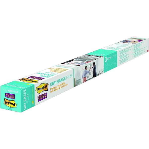 Post-it Folie Super Sticky DryErase weiß Nr. DEF8x4-EUFlipchartfolie 123x248m