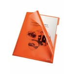 Bene Sichthülle A4 PVC/Hartfolie orange Nr. 205000 OR 150my PA 100Stk