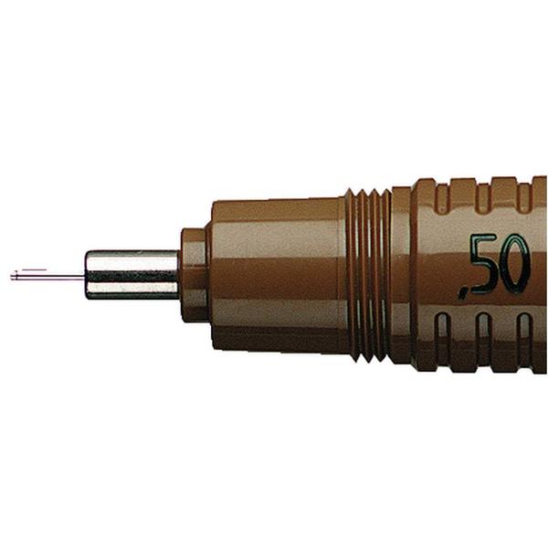 Rotring Zeichenkegel rapidograph Nr. S0219590 braun 05 mm
