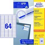 Zweckform Universal-Etikett Nr. 3667-200 PA 12.800Stweiß 485x169mm bedruckbar