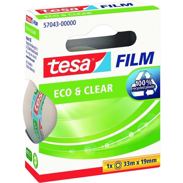 tesa Klebefilm Eco & Clear 19mmx33m Nr. 57043 unsichtbar kopierbar