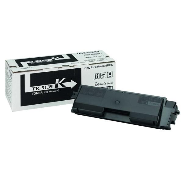 Original Kyocera Toner TK 5135K schwarz Nr. 1T02PA0NL0 ca. 10.000 Seiten