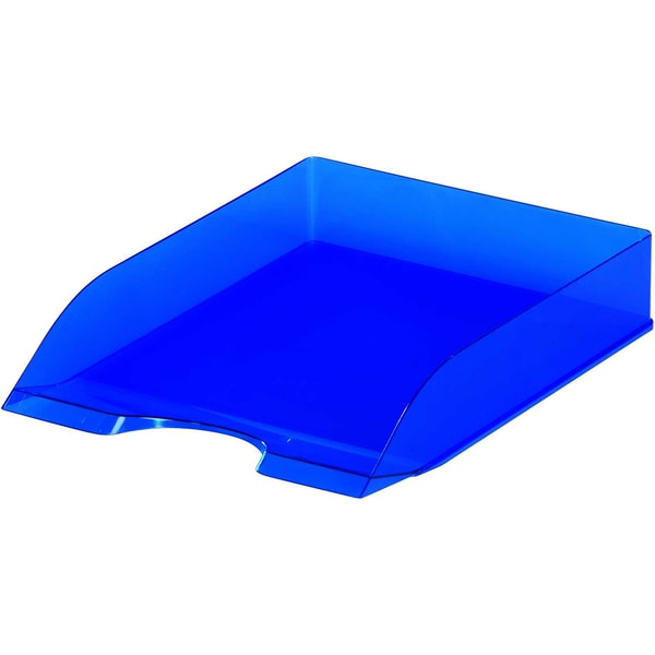 Durable Briefablage Basic C4 blau Nr. 17016735-40 transluzent