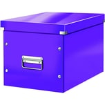 Leitz Archivbox Click & Store Cube A4 Nr. 6108-62 32x36x36cm violett