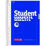 BRUNNEN Collegeblock Student A4 liniert Nr. 1067927 80 Blatt 70g blau