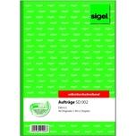 Sigel Auftragsbuch A5 hoch Nr. SD002 3x 40Blatt selbstdurchschr.