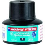 Edding FTK25 Nachfülltusche 25ml schwarz 4-FTK25001 Flipchartmarker 380383388