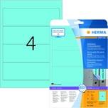 Herma Rückenschild Nr. 10168 blau PA 80Stk breit/kurz Movables ablösbar