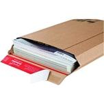 ColomPac Versandtasche A3 selbstklebend braun ohne Fenster Kraftliner Wellpappe