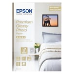 Epson Fotopapier Premium Glossy A4 255g Nr. C13S042155 PA 15 Blatt glänzend